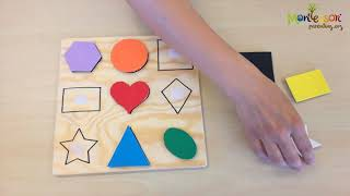 DIY ACTIVITIES FOR CHILDREN - MATCHING SHAPES