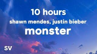 [10 HOURS] Shawn Mendes, Justin Bieber - Monster (Lyrics)