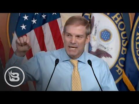 Jim Jordan Goes NUCLEAR After Pelosi Blocks Him From Jan. 6 Committee