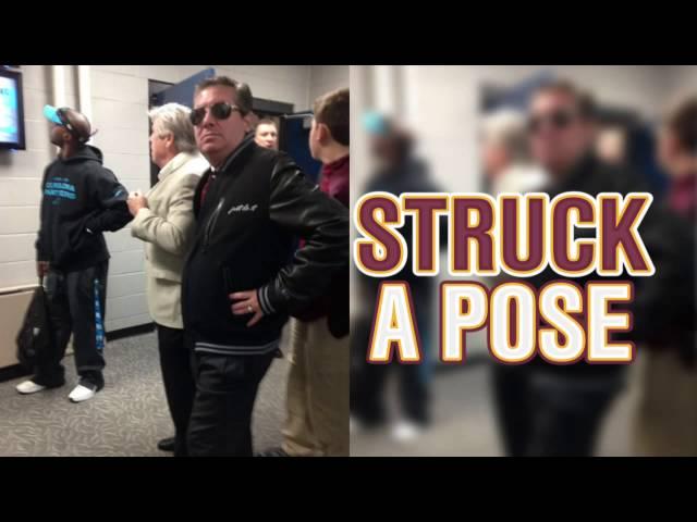 Redskins owner Daniel Snyder's 'Just Do It jacket is … something