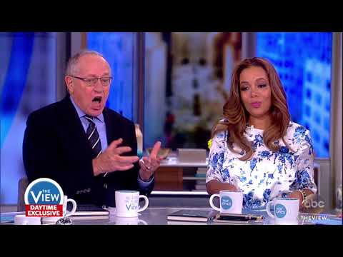 Alan Dershowitz On Whether Trump Can Pardon Himself | The View