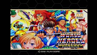 The KO #59 - World Heroes and WH Perfect are Gorgeous (PS2)