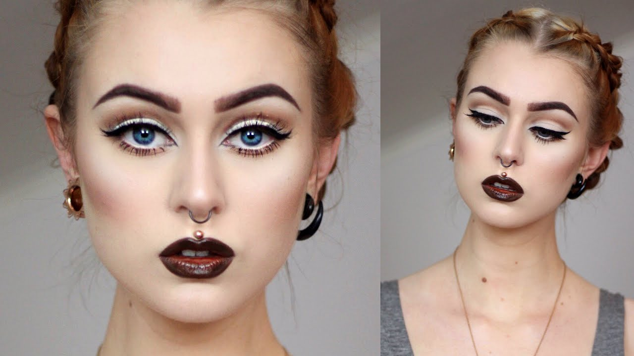 How To Achieve Big Eyes With Makeup Evelina Forsell Youtube