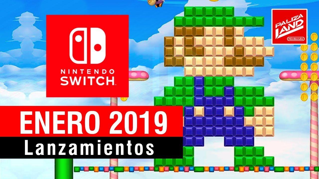 Lanzamientos Mejores Juegos De Enero Para Nintendo Switch 2019 Youtube