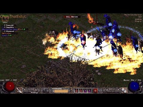 Causing MASSIVE DESTRUCTION in Project Diablo 2 -  HC Blade fury testing.