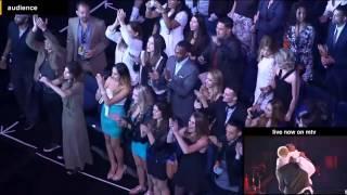Eminem & Rihanna The Monster Live  2014 MTV Movie Awards FULL PERFORMANCE HD !!backstage view!!