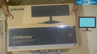 Samsung 18 5 inch Super Slim LED Monitor Unboxing amp Review