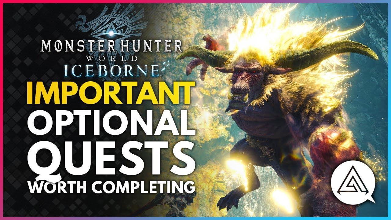 Monster Hunter World Iceborne | All Important Optional Quests You Should Probably Complete thumbnail