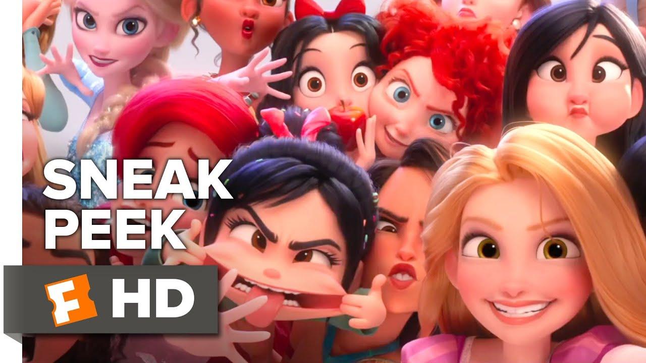 Ralph Breaks the Internet Sneak Peek (2018) | Movieclips Trailers