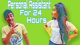 | Becoming Personal Assistant For 24 Hours Challenge |