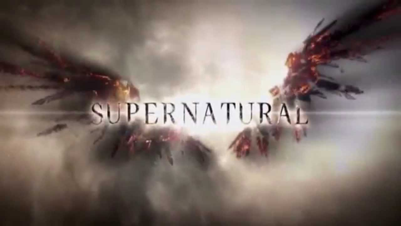 Supernatural title cards intros seasons 1 10 youtube - Supernatural season 8 title card ...