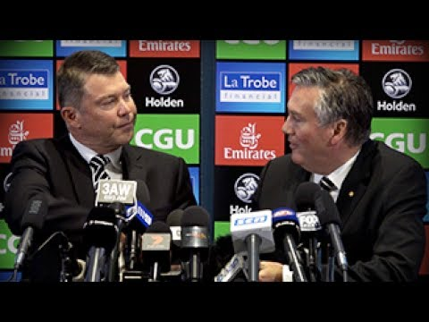 RAW: Pert and McGuire face media