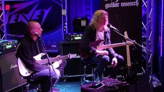 Conquering Dystopia (Loomis and Merrow)- Guitar Clinic Outtakes at Nevada Music, Portsmouth UK pt.2