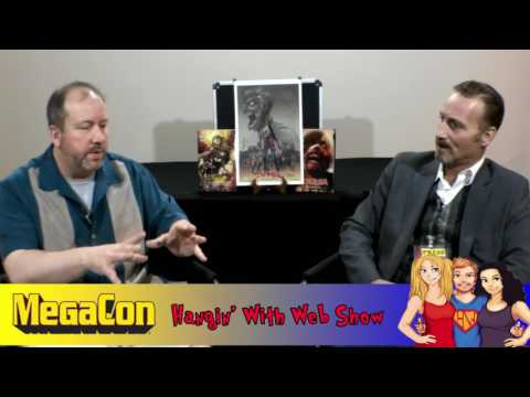 Austin Janowsky-Actor-Artist-Comics-MegaCon interview on the Hangin With Web Show