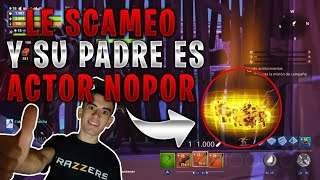 🔥SCAMEO A SCAMMER and ITS PARENT IS JORDI ENP!😳 Fortnite Save the World