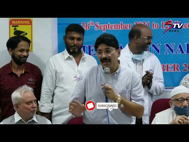 வெறுப்பு அரசியல் செய்ய பாஜக துடிக்கிறது.. தயாநிதிமாறன் எம்.பி   #DMK   cm mk stalin  Tamil news  STV