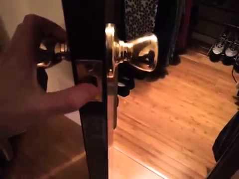 Stuck Door knob fix - Klown Quicktip!! - YouTube