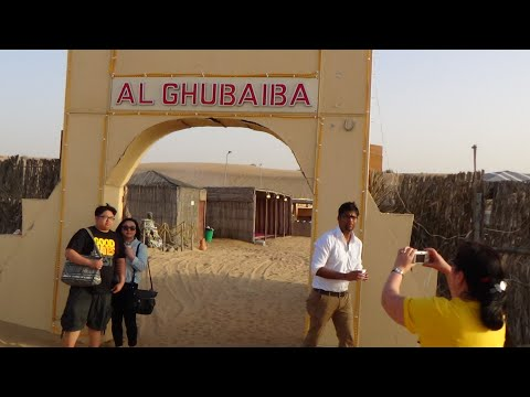 Dubai Desert Safari Camping – One Of the Best Thing To Do In Dubai  Camp AlGhubaiba Part 1