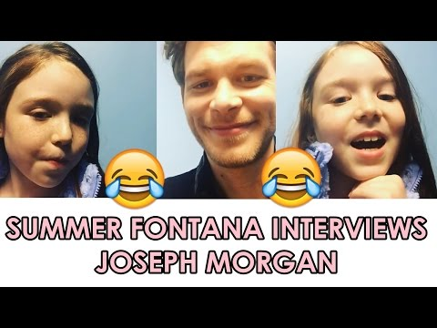 Summer Fontana Interviews Joseph Morgan | What He Learned from The Originals? | pt.2