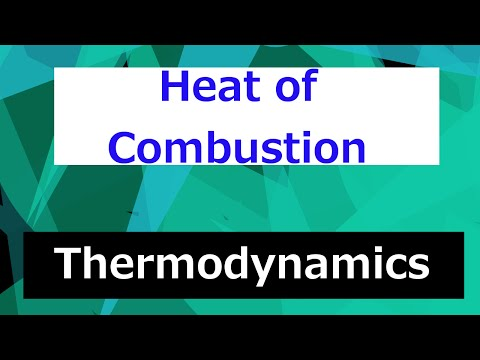 Heat of Combustion Overview // Thermodynamics - Class 107