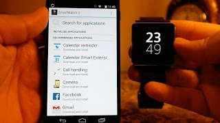 how To Setup The SONY SmartWatch 2