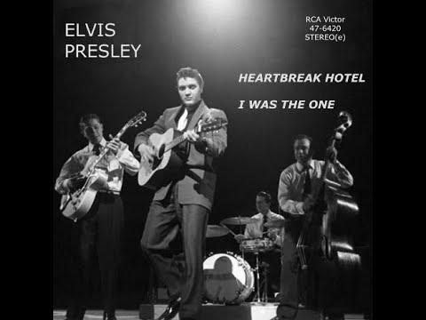 Elvis Presley - Heartbreak Hotel - I Was The One 1956 in STEREO(e)