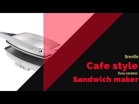 Breville Cafe Style Sandwich Maker
