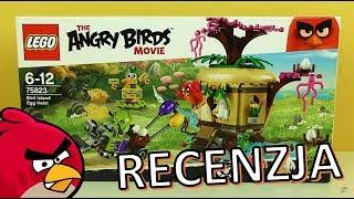 LEGO Angry Birds Kradzież jaj na Ptasiej Wyspie 75823 / RECENZJA