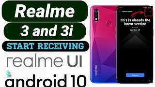 Realme 3, Realme 3i Start Receiving Realme UI Update With Android 10 in India | Dark mode | sidebar.
