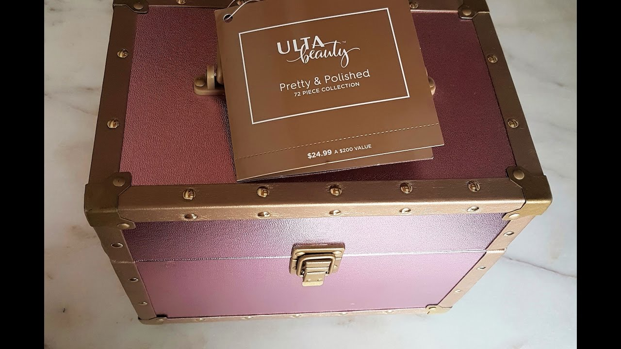 Ulta Beauty, Pretty and Polished, 72 Piece Collection, REVIEW ...