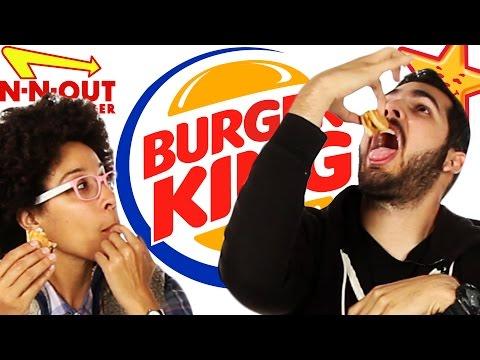 Fast Food Burger Taste Test