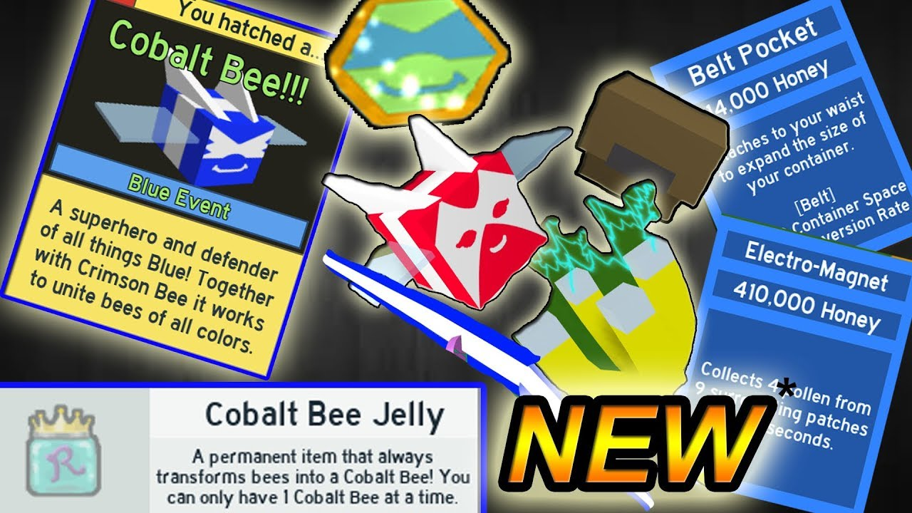 UNLOCKING ALL *NEW* ITEMS!!!! ( New code ) - Roblox Bee ...