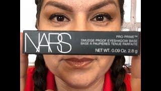 NARS PRO PRIME EYESHADOWS BASE PRIMER REVIEW & WEAR TEST