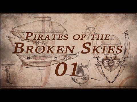 Pirates of the Broken Skies Roll4It #01 NIGHTINGALE - Steampunk DnD Homebrew
