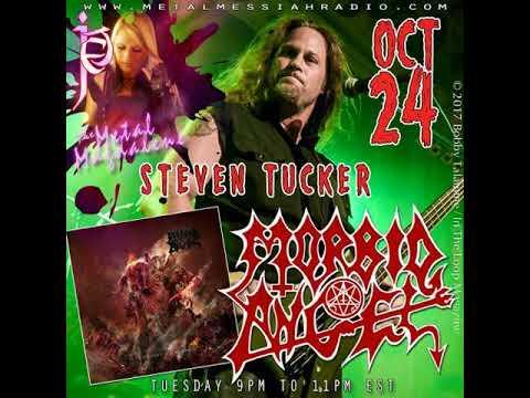 Steven Tucker of Morbid Angel interview on the Metal Magdalene.