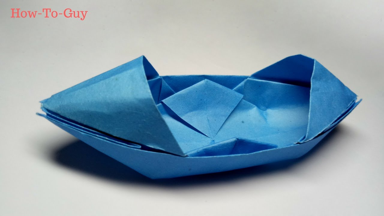 how to make a paper boat origami paper boat that floats