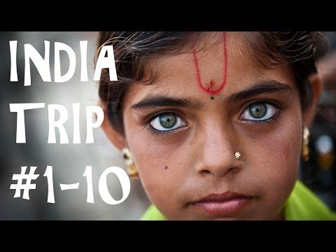INDIA TRAVEL Series 1-10 New Delhi Varanasi Jaipur Amritsar Kalka Shimla Kalpa Nako Tabo Kaza Manali