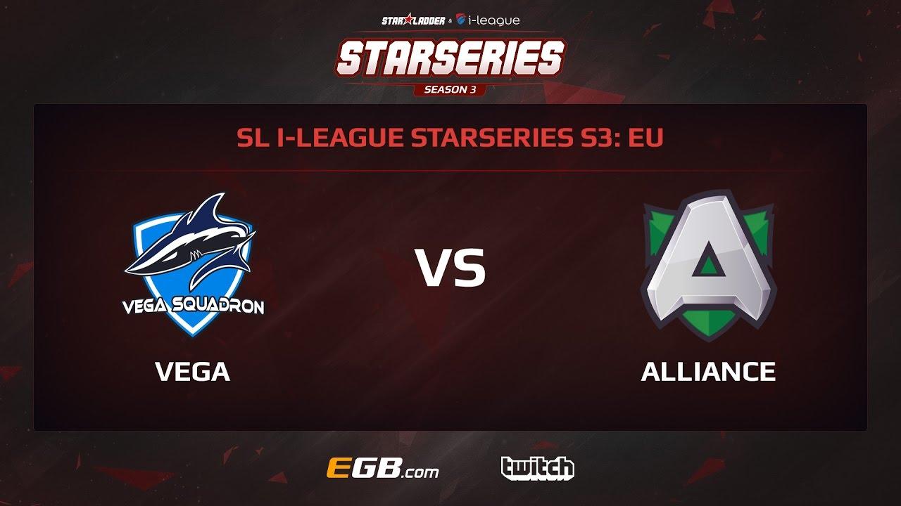 Vega Squadron vs Alliance, Game 2, SL i-League StarSeries Season 3, EU