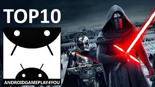 TOP 10 FREE Star Wars Games For Android (1080p)