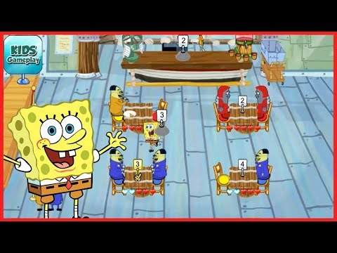 SpongeBob Diner Dash - Fun Android Gameplay Let's Play