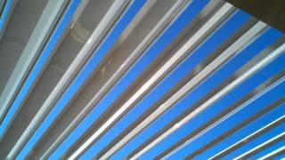 Arcadia Louvered Roof Opening And Closing .3gp