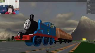 HAVE A RIDE WITH THOMAS AND FRIENDS (part 2) Roblox