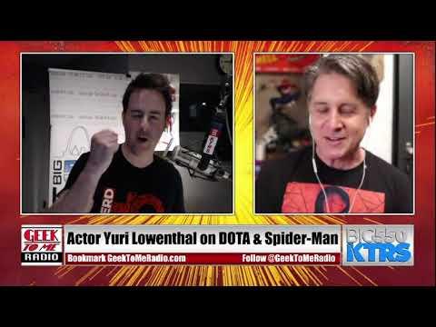 Yuri Lowenthal on Geek To Me Radio LIVE Sunday 9-10pmCT - 03.28.2021