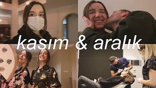 KASIM & ARALIK | bir videoda bir? ay