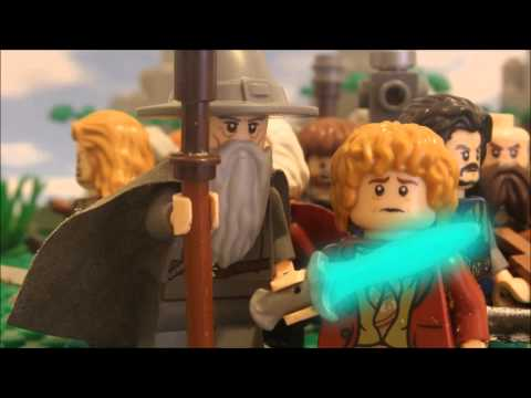 LEGO The Hobbit Warg chase