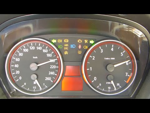 How to test the instrument cluster on bmw e90 (KI TEST)