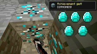 Соревнования по поиску алмазов! Кто найдёт быстрее алмазы?