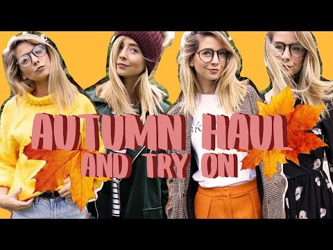 Huge Autumn Clothing Haul & Try On | Zoella