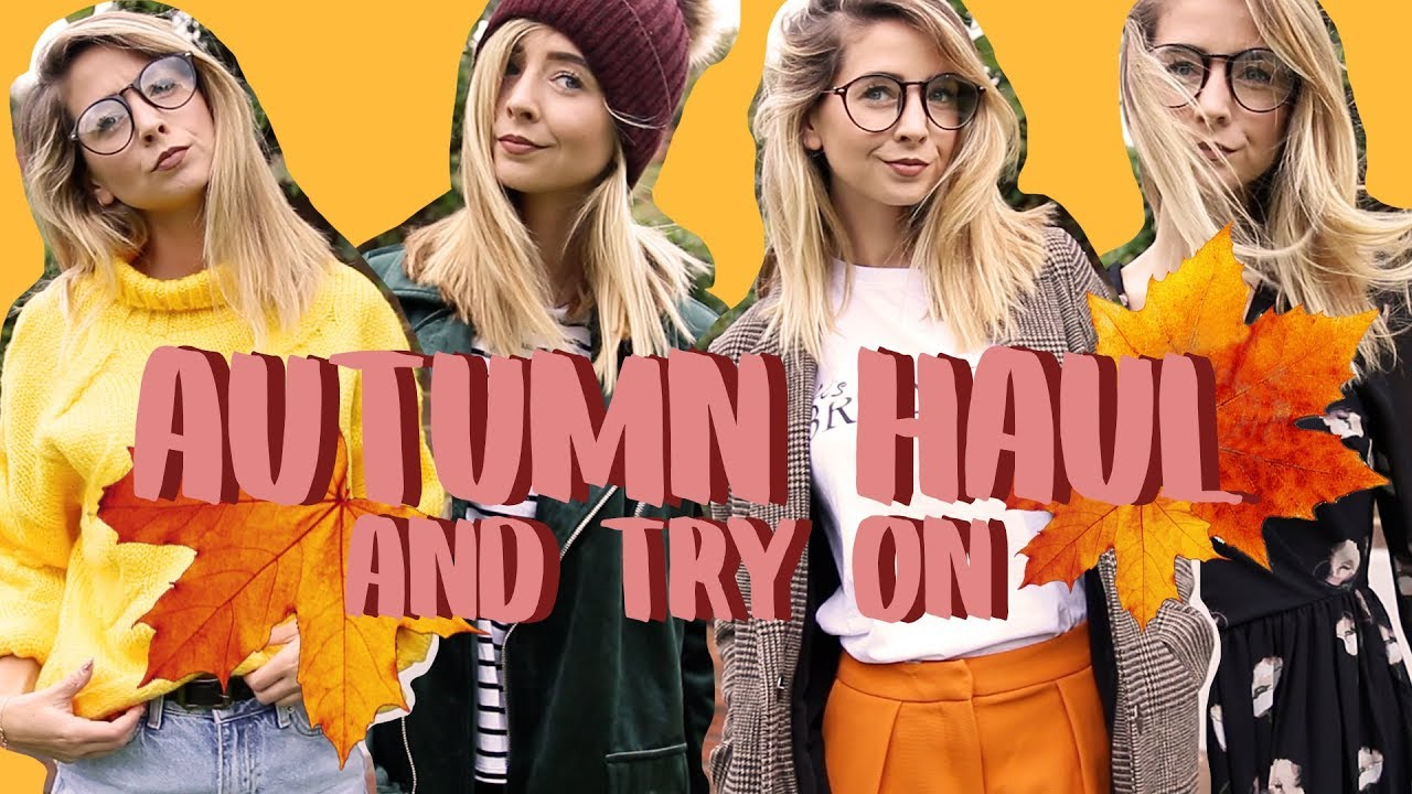 bd9d1486c74c51 Huge Autumn Clothing Haul & Try On | Zoella - YouTube