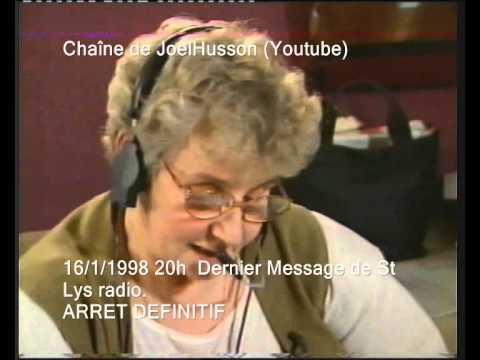 Dernier message de St Lys radio (16-1-1998 20h)